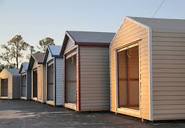 metal siding material for storage sheds