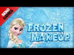 frozen princess elsa makeup game for