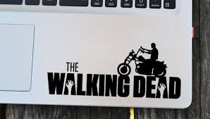 Daryl Dixon Chopper Decal Walking Dead Decal Laptop Decal Vinyl Decals Macbook Decal Wall Sticker Car D Wall Sticker Inspiration Vinyl Wall Stickers Vinyl