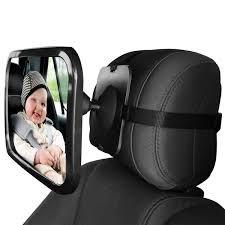 mirror for rear view facing back seat