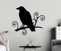 Bird Curly Branches Decal For Cars Walls Tumblers Cups Etsy