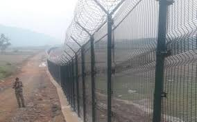 Steel Mesh To Replace Border Fences The Hindu