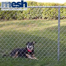 China Hot Sell Used Chain Link Fence Post China Chain Link Roll Mesh Chain Link