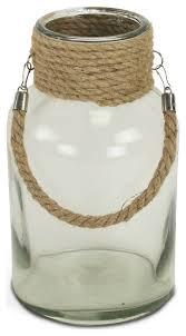 el morro glass jar with rope
