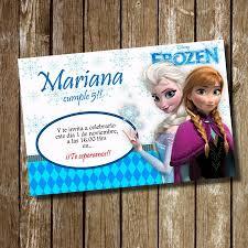 Kit Imprimible Tarjeta De Invitacion Cumpleanos Frozen 35 00