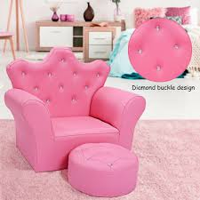Hello Kitty Girls Pink Furniture Set Kids Sofa Chair Ottoman Toddler Room Seats For Sale Online Ebay