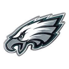 Fanmats Nfl Philadelphia Eagles 3d Molded Full Color Metal Emblem 22599 The Home Depot