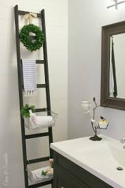 diy storage ladder clean and scentsible