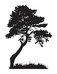Stickerbrand Nature Vinyl Wall Art Huge Tree Leaves Grass Wall Decal Sticker Multiple Colors Available 72