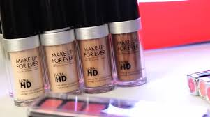 makeup forever ultra hd foundation kit