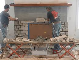 choosing a stone fireplace real stone