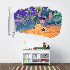 Stitch Wall Decal Lilo And Art Amazon Philippines For Sale Bedroom Vamosrayos