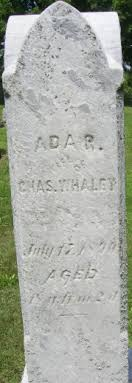Ada Reed Whaley (1871-1890) - Find A Grave Memorial