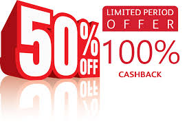 50% Discount and 100% Cashback — Are you Kidding me ? | by Arshad Ghole