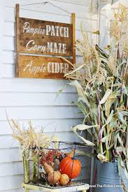 Stencil A Fall Sign For The Porch Wooden Signs Fall Signs Fall Decor