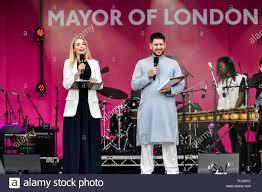 London, UK. 08th June, 2019. Abdullah Afzal and Myriam Francois ...