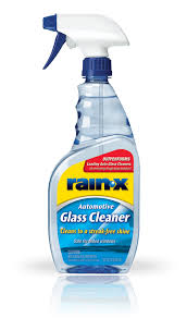 rain x glass cleaner rain x