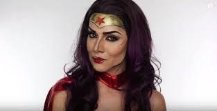 diy makeup tutorials wonder woman