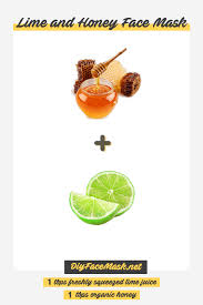 lime and honey face mask recipe diy