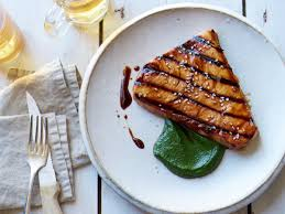 Grilled Swordfish with Miso Sauce ...