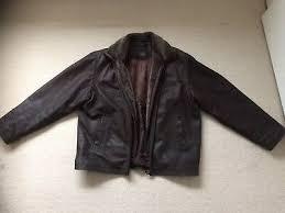 john b classic leather jacket vintage