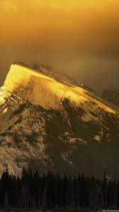 mountain gold nature wallpapers