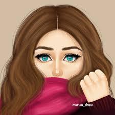 رسومات بنات حلوه اشكال ورسومات للمزز صباح الورد