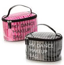 dance makeup bag with mirror saubhaya