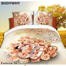 print 3d bedding sets duvet cover