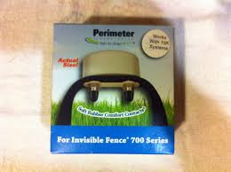 Amazon Com Perimeter Technologies Invisible Fense 700 Series Compatible Dog Fence Collar Works With The 10 000 Fence Frequency System Perimeter Technologies Wireless Pet Fence Products Pet Supplies