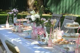 outdoor e for a summer party