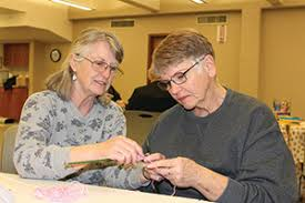 Learn to knit session at library - Whitman County Gazette