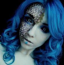 mermaid makeup uploaded by june on we