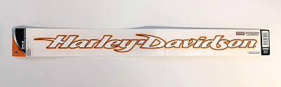 Amazon Com Chroma Graphics Harley Davidson Script Windshield Decal Automotive