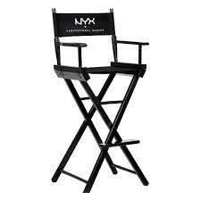 nyx makeup artist director s chair