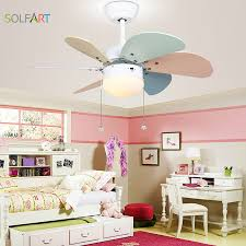 Solfart Roof Fan Modern Ceiling Fan Kids Room Led Ceiling Fan With Light Mute Security Natural Wind Colorful Fan Leaf Slf2079 Fans Modern Modern Ceiling Fanled Ceiling Fans Aliexpress