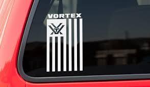 Vortex Vertical Flag Vinyl Decal Impact Proshop
