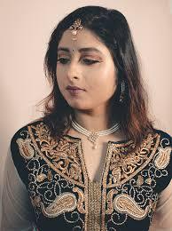indian wedding guest makeup rudrita