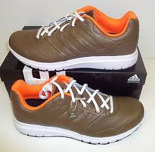 af6084 brown leather running trainers