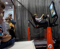 crazy racing simulator by motion sim