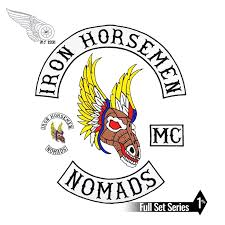 Iron Horsemen Sets Motorcycle Biker Embroidered On Patch Full Back Size For Jacket Vest Sew On Mc Diy Apparel Sewing 7pcs Set Motorcycle Biker Patch Bikerjacket Patches Biker Aliexpress