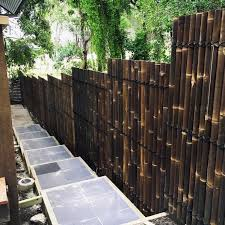 Top 50 Best Bamboo Fence Ideas Backyard Privacy Designs Bamboo Fence Fence Design Backyard Privacy