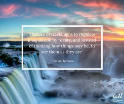 our travel quote comes from the awe inspiring destination of