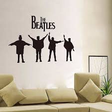 The Beatles Wall Stickers Characters Quotes Wall Decals