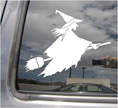 Wiccan Fish Wiccan Witch Pagan Car Windscreen Window Vinyl Funny Sticker 423 Badges Decals Emblems Car Tuning Styling