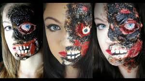 two face sfx makeup tutorial