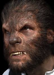 werewolf prosthetic ready made and