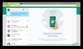 WhatsApp Web cos'è e come funziona • Ridble