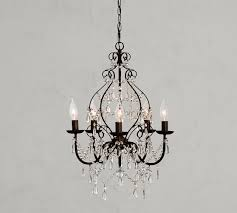 paige crystal chandelier pottery barn