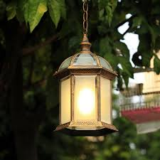 glass outdoor hanging pendant lights